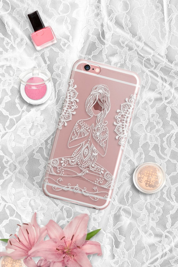 Bohemian iPhone 7 Case Clear Silicone iPhone 7 Plus Case Clear Tribal iPhone 6 Case iPhone 6s Plus Case Rubber iPhone 6s Case Clear S7 Case
