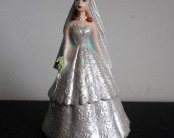Wedding Barbie Fashion Figure by ENSECO, 1994, Mattel, Collector, Bridal Shower, Decor