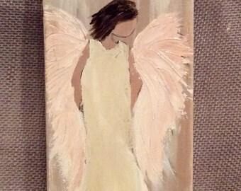 Angel Painting Original On Canvas