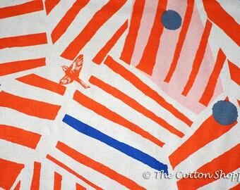 Echino Ray Fabric ~ Kokka Fabric ~ Canvas Fabric ~ Japanese Fabric ~ Linen Fabric ~ Cotton Fabric ~ Apparel Fabric ~ Home Decor Fabric