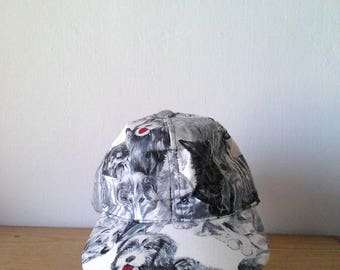 Infinity Chic Dogs and Cats Printed Cap