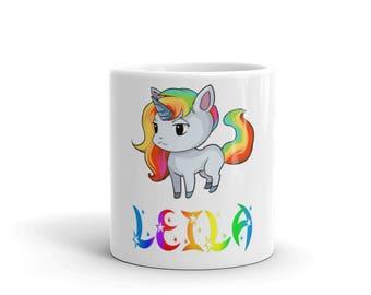 Leila Unicorn Mug