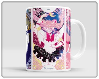 Sailor Senshi Tarot Mugs