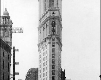 Poster, Many Sizes Available; One Times Square Building Flatiron Building P3