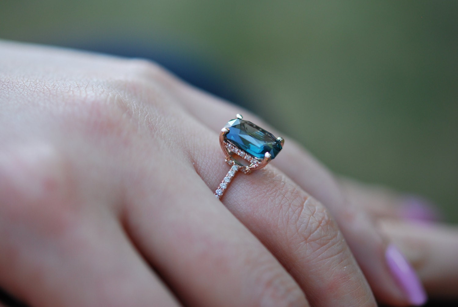 sapphire green engagement rings blog the company natural blue