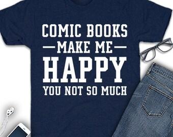 Comic book shirt, comic book gift, comic lover shirt, comic book lover gift, comic shirt, comic book t shirt, comic book fan shirt,comic tee