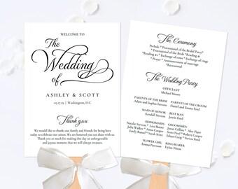 Wedding Program Fan Template,Wedding Program Fan Printable,Rustic Wedding Fan,Program Fan Wedding,Wedding Program Fan Printable,Download PDF