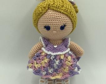 Maddy - Handmade Crocheted Doll, Amigurumi Doll, Custom Doll