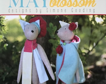 May Blossom Foxglove by Simone Gooding MB050 Pattern