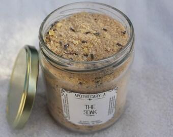 Coconut Milk & Honey Goddess Bath Soak *Organic Bath Salts * Handmade Healing Relaxing Home Spa Luxuries
