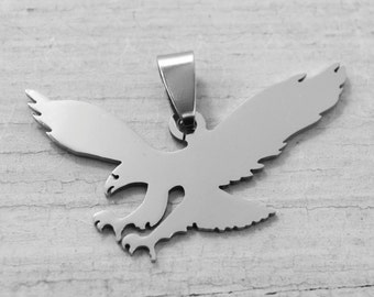 Eagle Pendant in Stainless Steel for Jewelry Making