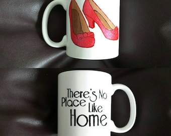 Hand painted mug inspired by the Wizard of Oz