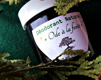 Natural deodorant cream with schisandra oil and activated