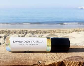 Mother's Day Gift // LAVENDER VANILLA || Roll on Perfume || Travel Perfume  ||  Long lasting perfume