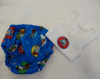 Thomas the Tank Engine Nappy Diaper Cover Set Size Newborn - More Sizes Available
