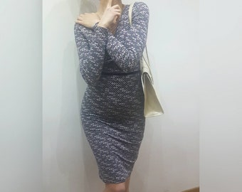 XTSY extasy delightful dress fancy dress polka Dots 90s