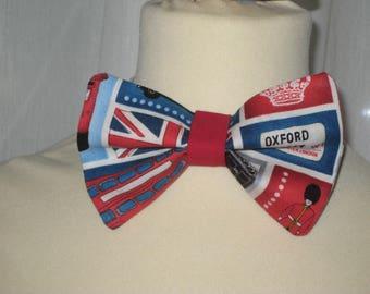 "Bow tie cotton ""So british"""