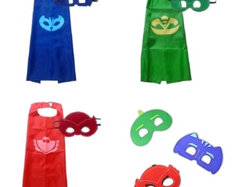 PJ - Mask & Cape Set - perfect Birthday Party bag filler/favor