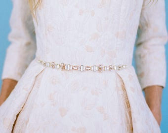 Art Deco with a Delicate Touch of Sparkle Belt