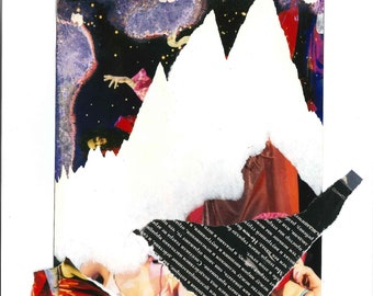 """Collage, """"Sodom mountains"""""""
