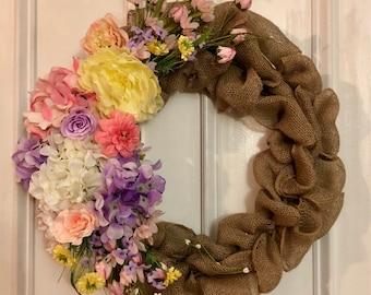 Springtime! Spring wreath