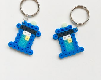 Tardis (Doctor Who theme) Glow in the Dark - Key Chain - key holder