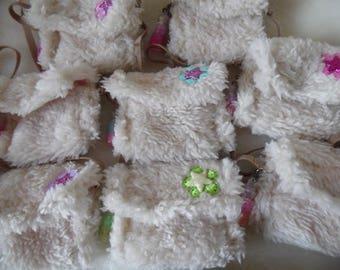 Fluffy Beige Handbag for BJD Pullip and Blythe dolls!!