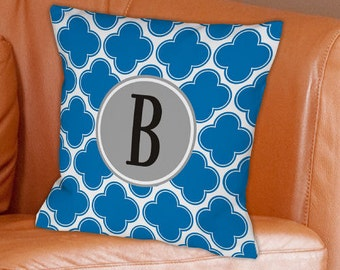 Monogrammed Moroccan Throw Pillow -gfy83068233WB14