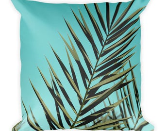 Palm Tree Leaves Pillow