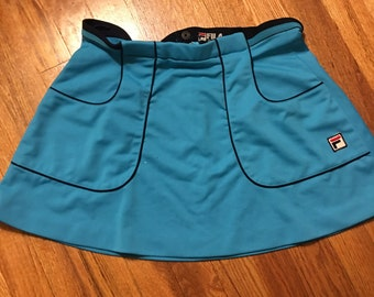1977 Fila vintage tennis skirt classic 70s throwback sports sportswear chris evert nike adidas cool cute sexy awesome rare hipster retro
