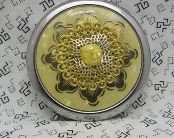 Compact Mirror Bridesmaid Gift Comes With Protective Pouch Gift For Her Angela