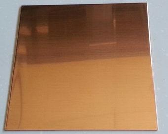 """1/8"""" C110 Copper Sheet Plate"""