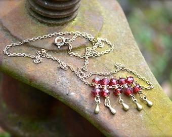 Glorious Garnet Necklace