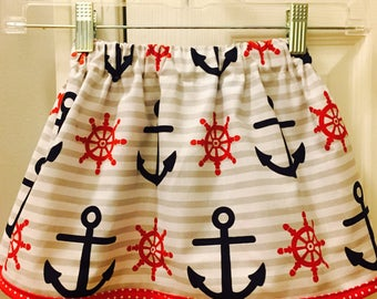 Anchor & Wheel skirt