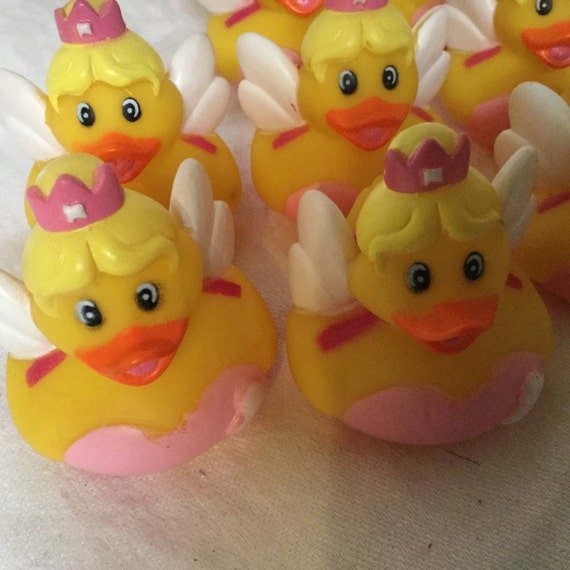 Tooth Fairy Rubber Duck 1 party favors/cupcake toppers