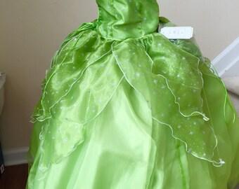 Tinker Bell  dress Costume, Tinker Bell dress for Girls