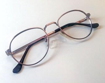 Randolph RE 251 Vintage Key Hole Eyeglasses Eyewear  50-19-140 Deadstock Eyeglasses Frames Wire Rimmed Copper Metal Glasses