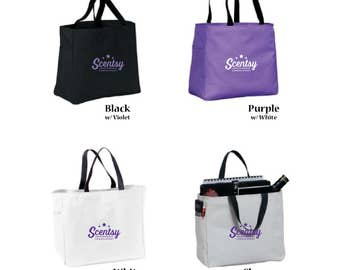 authorized Scentsy Vendor Scentsy embroidered tote bag