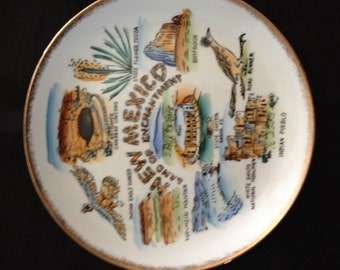 New Mexico Land of Enchantment Collector Plate