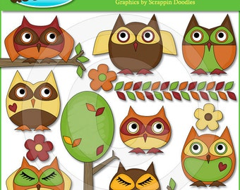Hooty Owls Clip Art