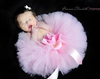 Baby Tutu, Newborn Tutu, Pink Tutu, First Birthday Tutu, Tutus for Babies, you choose colors, sizes up to 12 months