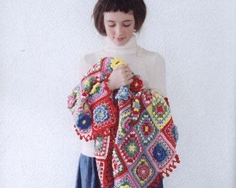 22 Colorful Crochet Designs - Crochet Patterns - Crochet Motifs Patterns -  japanese crochet ebook - PDF - pattern - instant download