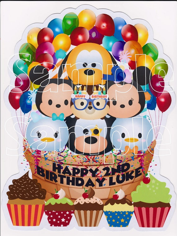 New Thicker Magnets NEW Custom Mickey Mouse Tsum Tsum Birthday