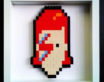 Starman - David Bowie LEGO Art by BLM.