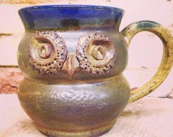 Owl Mug, 14 Ounce