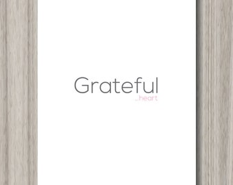 Grateful Heart | Thank you greeting cards