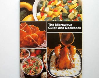 Soft cover cookbook etsy vintage book the microwave guide and cookbook 1985 cooking recipes soft forumfinder Gallery