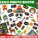 PRINTABLE Mexico Photo Booth Props-Printable Fiesta Props-Cinco De Mayo Props-Mexico Props-Travel Photo Props-Mexican Party-Instant Download