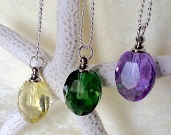 Water Drop, Glass Vial Necklace, Bottle Pendant, Apothecary Jar, Glass Vial Charm, Glass Vial, Vial Necklace, Glass Vial Pendant, Empty Vial