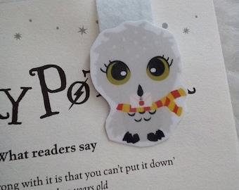 Hedwig - Harry Potter magnetic bookmark